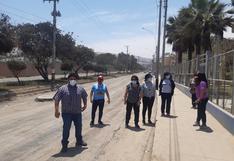 Protestan por obra vial inconclusa en avenida Jorge Basadre