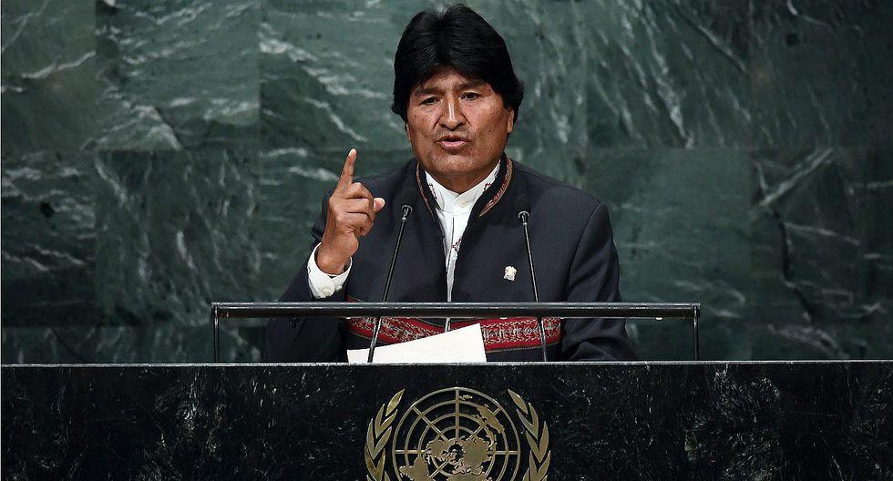 Evo Morales acusa a Chile de violar los derechos humanos de los bolivianos (VIDEO)