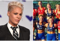 Pink pagará multa de selección noruega de balonmano playa que se negó a jugar en bikini