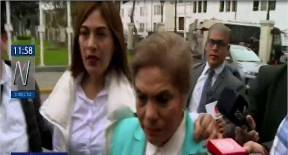 """Luz Salgado llora por Tubino y le dice a Vizcarra: """"Lo hago responsable de nuestras vidas"""" (VIDEO)"""