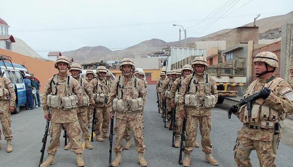 Ejército llevará más ayuda por heladas