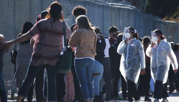 EE.UU. bate su récord de infecciones por segundo día consecutivo con 225 594. (Foto: AFP)