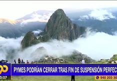 Suspensión perfecta: fin de la medida podría quebrar empresas de turismo (VIDEO)