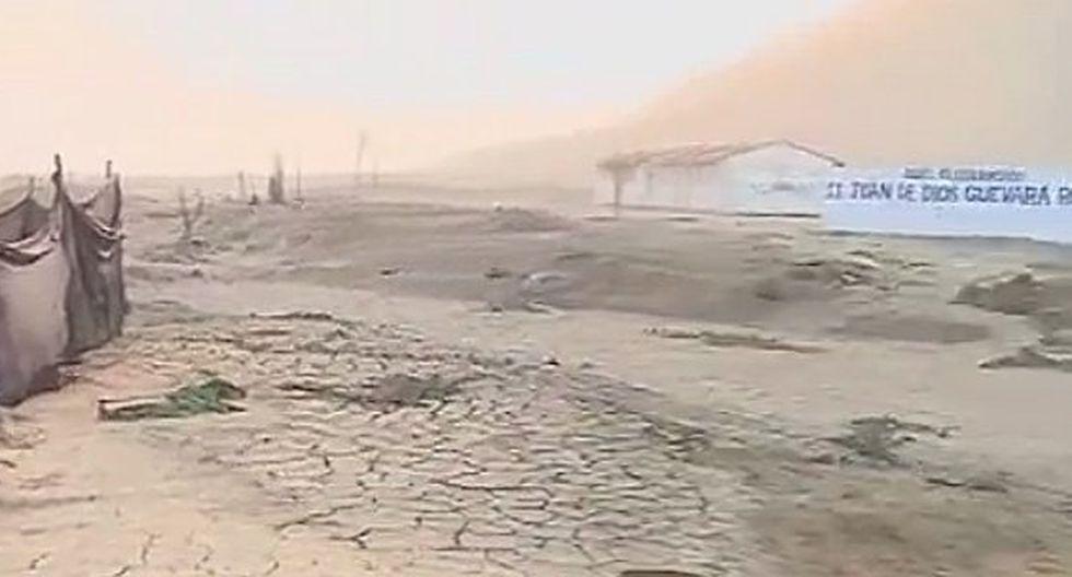 Autoridades abandonan colegio que está cerca de un cauce de huaicos en Huarochirí