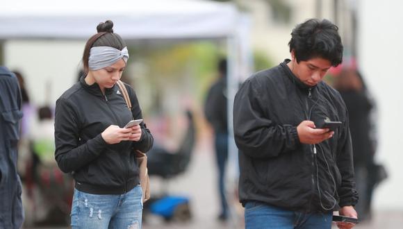 San Juan de Lurigancho lideró participación de tráfico de datos en internet móvil durante las cuatro semanas de inmovilización social obligatoria, según Osiptel. (Foto: Lino Chipana / GEC)