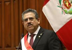 Manuel Merino presenta su renuncia irrevocable a la presidencia de la República