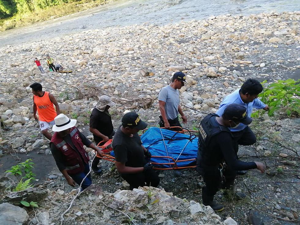 Brigadas continúan buscando a 11 desaparecidos en río Inambari