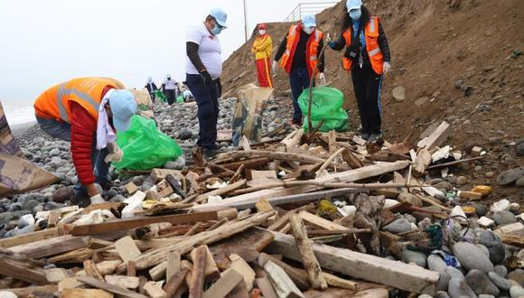 La Municipalidad de Magdalena advirtió que sanciona hasta con 6,600 soles a aquellas personas que arrojan basura o desmonte en las playas y la zona ribereña de la Costa Verde correspondiente al distrito. (Foto: Difusión)