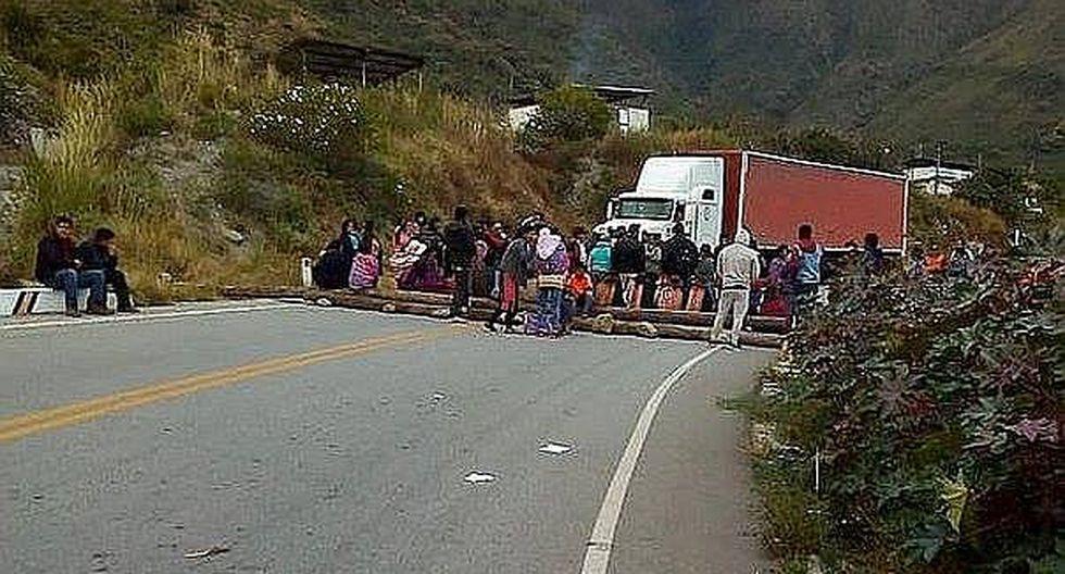 Pobladores suspenden paro para dialogar con representantes del MTC