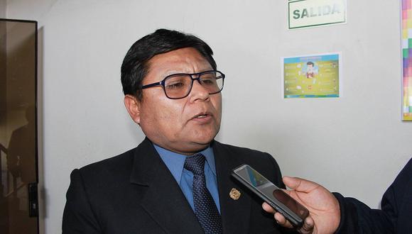 La autoridad se mantendría en el cargo mientras se defina la situación de Walter Aduviri Calisaya Foto: Difusión