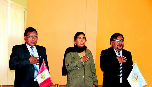 Lourdes Quispe Flores fue reemplazada por Juan Ticona Maquera