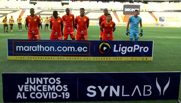 Aucas enfrenta a Barcelona SC por la jornada 8 de la Liga Pro de Ecuador. (Foto: Liga Pro de Ecuador)