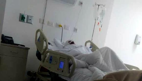 Herido tiene fracturas y necesita operación con urgencia| Foto: Correo