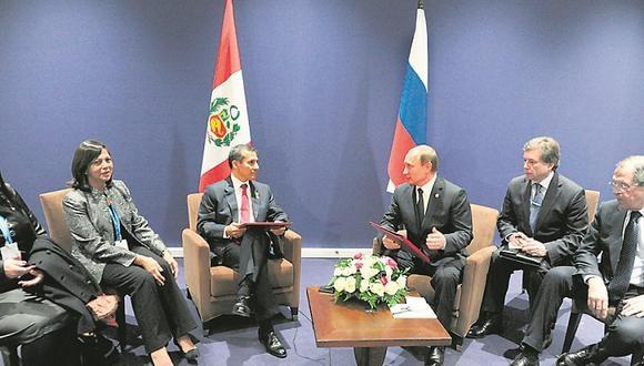 Perú y Rusia firmaron convenio bilateral a favor de la tecnología