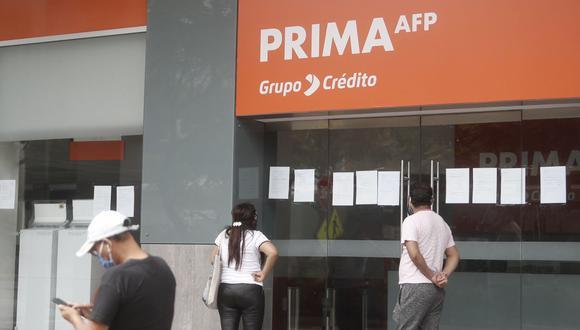 Retiro AFP. (Foto: Cesar Campos / GEC)