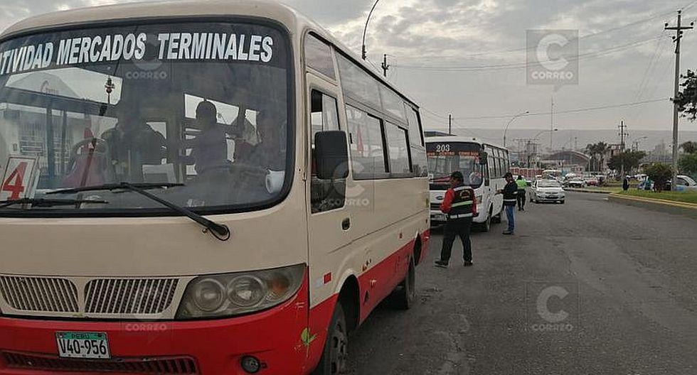 Dirigente de transportes intervenido en operativo de MPT