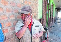 """""""Ayrampito"""", un hombre de 83 años que gana 20 soles semanales en Huancayo"""