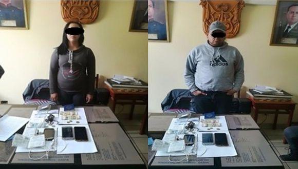 Capturan a pareja de venezolanos que realizaba cobros indebidos