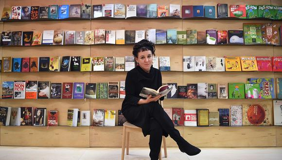 La novelista polaca Olga Tokarczuk ganó el premio Nobel de Literatura 2018.