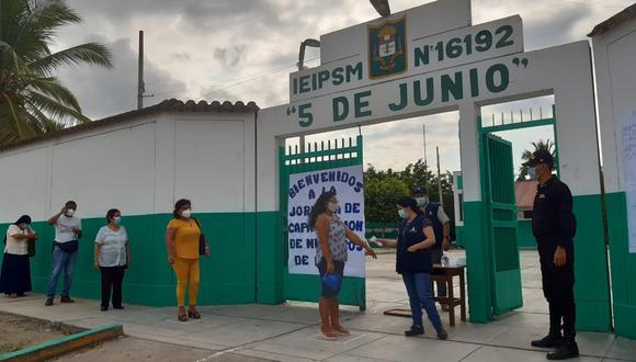 Más de 650 mil electores acudirán a sufragar en la región Ica (ONPE).