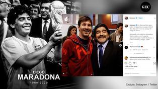 Murió Diego Maradona: Los emotivos mensajes de despedida de las diferentes personalidades del mundo