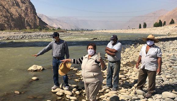 Autoridades recorrieron ribera del río Tambo varias veces, ante visible contaminación