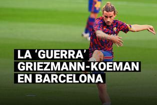 El conflicto de Griezmann con Koeman que lo dejó en la banca de suplentes
