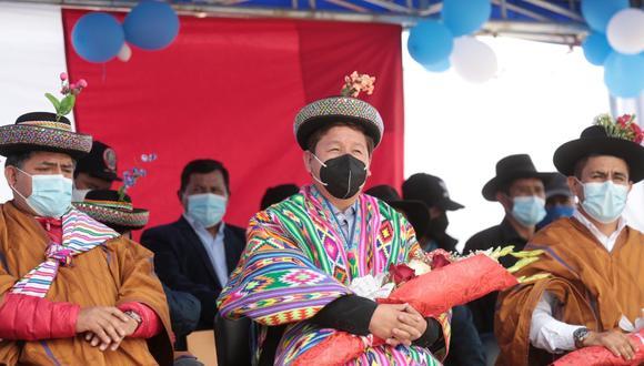 Premier realizó su discurso en quechua
