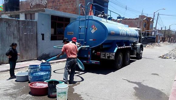 Sequía: pobladores tendrán solo dos horas de agua potable