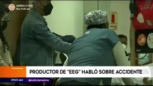 Esto es guerra: Imágenes del traslado de Elías Montalvo a la clínica tras caer abruptamente (VIDEO)