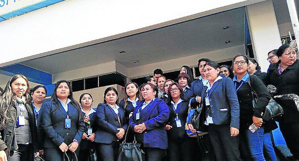 Trabajadores protestan ante temor a ser despedidos