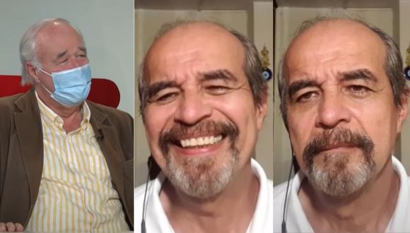 Víctor García Belaúnde responde a Mauricio Mulder, quien empezó a reírse luego de escuchar su respuesta.   Foto: Willax TV.