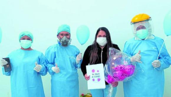 A solo dos semanas de funcionamiento, pacientes logran vencer el coronavirus en hospital temporal de Huaraz.