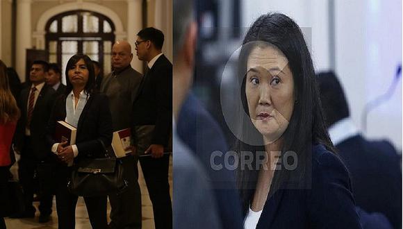 Suspenden audiencia sobre recurso de casación interpuesto por defensa de Keiko Fujimori (VIDEO)