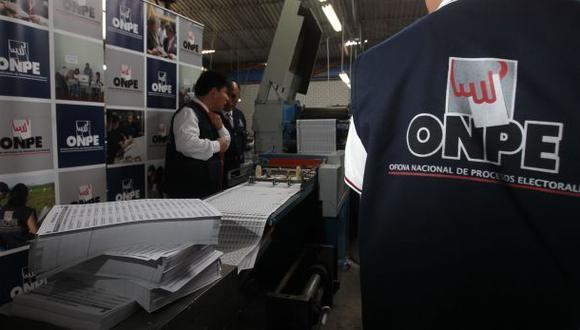 La ONPE publicó el reglamento para las elecciones internas donde indica que los candidatos para las elecciones internas solo podrán participar si registraron su afiliación en el partido hasta hoy. (Foto: Archivo GEC)