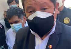 Guido Bellido llegó a Arequipa, pero no para tratar problemáticas locales