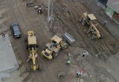 Destinan más de S/ 7 millones en construcción de pistas en Av. Andrés Avelino Cáceres de Ate