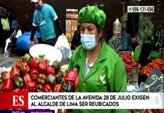 """Comerciantes de La Parada solicitan traslado a """"Tierra Prometida"""" en Santa Anita (VIDEO)"""