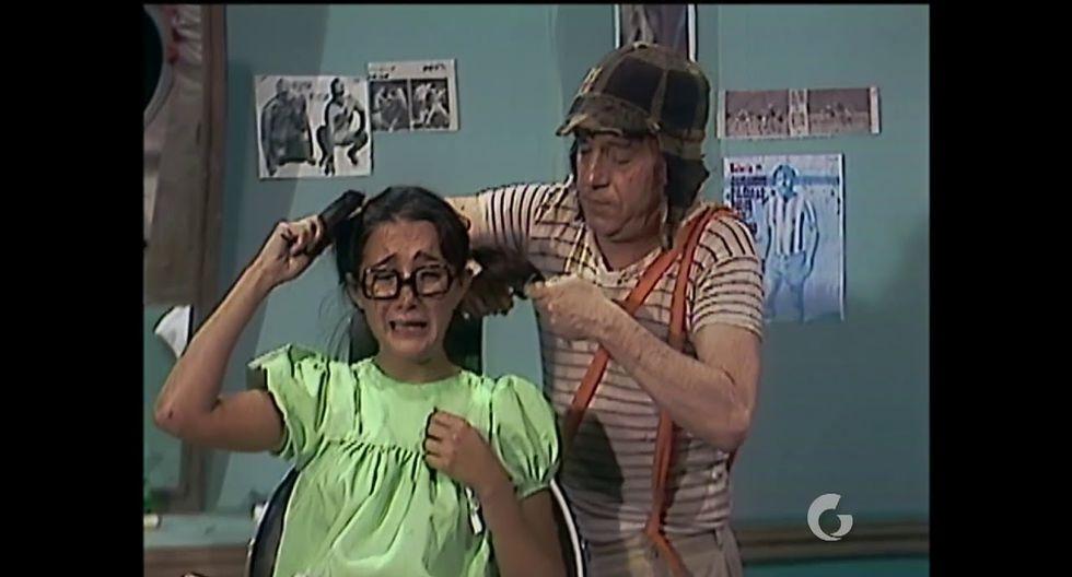 'El Chavo del Ocho': Edgar Vivar revela que corte de pelo de la 'Chilindrina' fue verdadero