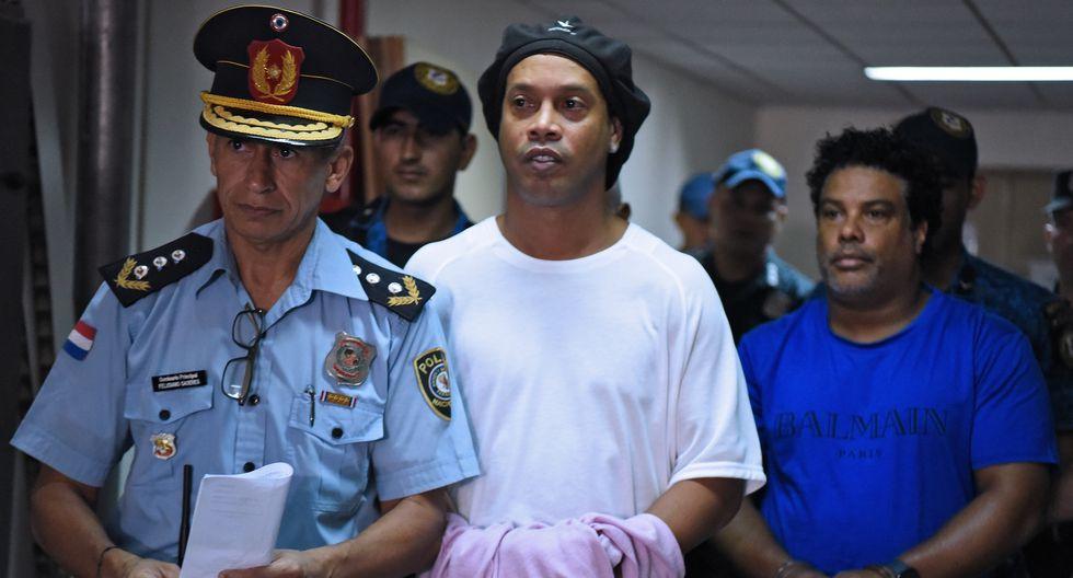 El exastro y su hermano Roberto fueron acusados de uso de documentos paraguayos adulterados. (Foto: AFP)