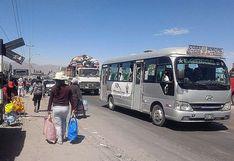 Arequipa tendrá subvención para el sector transporte