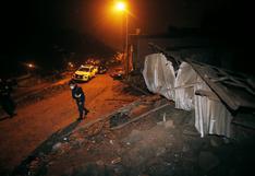 Temblor de magnitud 6 en Mala ha producido más de 10 réplicas, según IGP