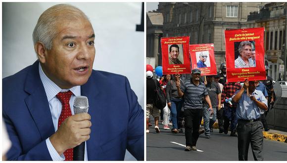 Wilfredo Pedraza afirma que seguimiento al Movadef se redujo en el gobierno de PPK
