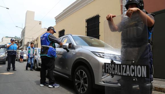 Los vehículos fueron internados en los depósitos municipales ubicados en la Av. Argentina y la Av. Coronel Baquero. (Foto: Municipalidad de Lima)