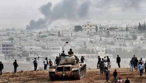 """Siria: Estado Islámico propaga terrible enfermedad que """"consume la carne"""""""