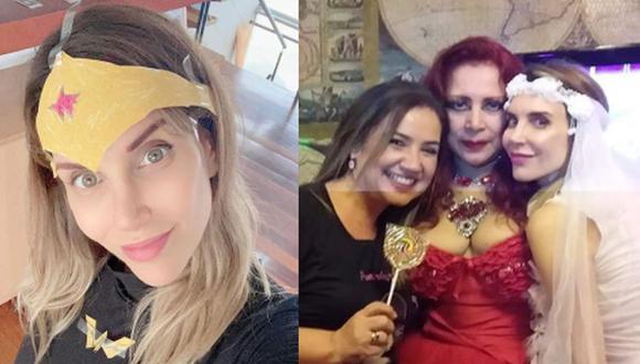 Juliana Oxenford recordó despedida de soltera con Monique Pardo en 2018. (Instagram)