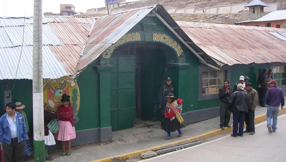 Los acusados fueron trasladados hasta la comisaría de Macusani. (Foto: Difusión)