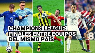 Manchester City vs. Chelsea: Repasa todas las finales de Champions League entre equipos del mismo país