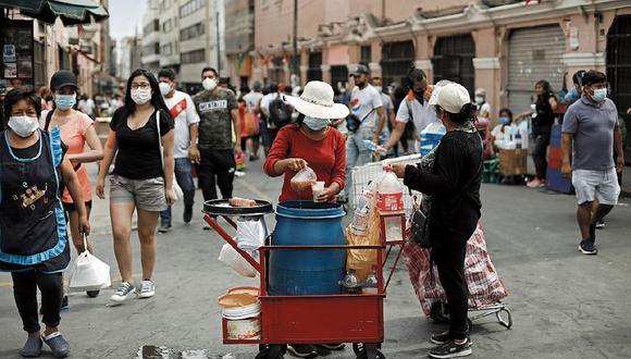 Esta semana se erradicó a cerca de 100 ambulantes y personas de mal vivir que habían tomado el espacio público durante diversos operativos. (Foto: GEC)