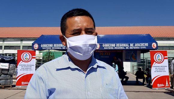 Alcalde de Cangallo pide declaratoria en emergencia por heladas
